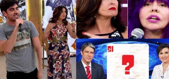 Inferno astral nas últimas semanas de Fátima Bernardes - Polêmicas e nova namorada de Bonner