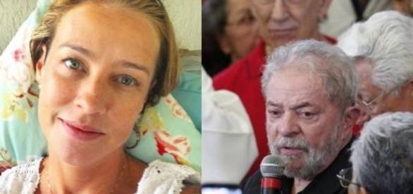 Luana chama Lula de indigno por conta de discurso político em velório