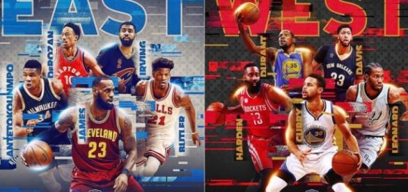 NBA da a conocer titulares para el Juego de Estrellas 2017 ... - com.mx