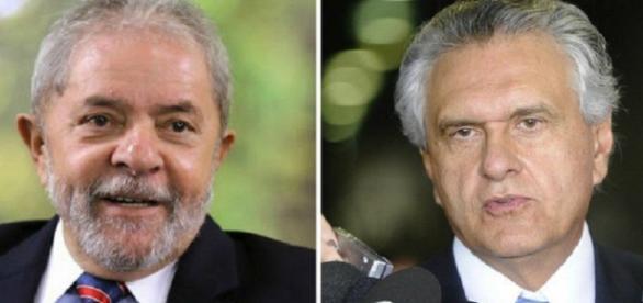 Ronaldo Caiado se revolta com o ex-presidente Lula