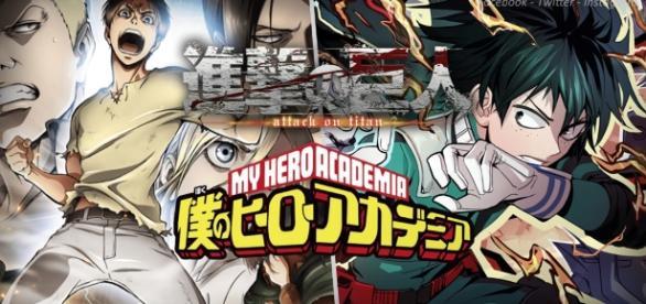 Shingeki no Kyojin y My Hero Academia ya tienen fecha oficial
