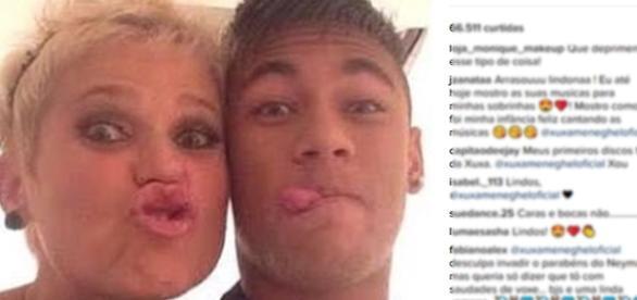 Xuxa é chamada de velha por seguidor (foto: reprodução Instagram)