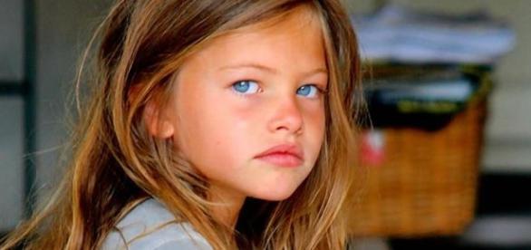 Antes e depois garota mais linda do mundo
