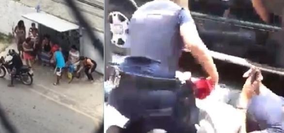 Guarda municipal que foi baleado durante os disparos.