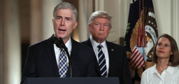 Image by: NBC News, Judge Neil Gorsuch delivers remarks after nomination to SCOTUS