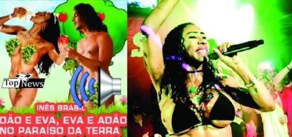 Inês Brasil lança música com temática religiosa