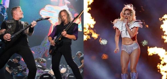 Metallica tocará com Lady Gaga no Grammy