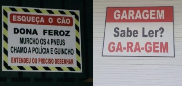 Pessoas sem paciência (Fonte: http://www.universocurioso.net/15-brasileiros-que-perderam-totalmente-sua-paciencia/)