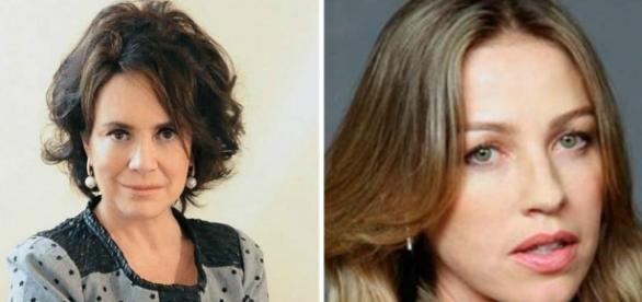Regina Duarte e Luana Piovani são criticadas