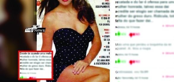 Tássia Camargo explica foto nua fazendo faxina aos 55 anos e diz que perdeu 20kg
