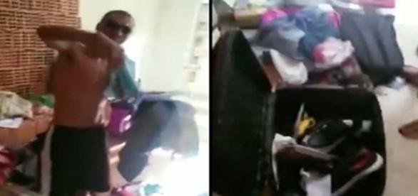 Tênis, óculos, roupas e outros produtos foram roubados.