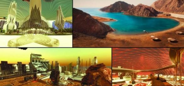 UAE To Build 'First City On Mars By 2117' - vishwagujarat.com
