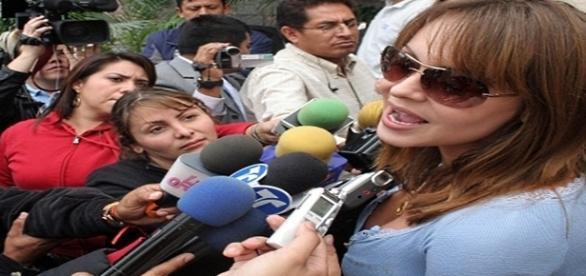 A atriz relatou as ameaças que vem sofrendo