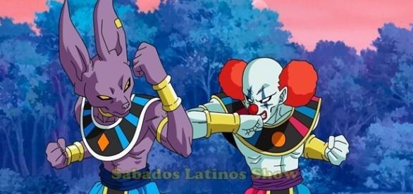 Dragon Ball Super Bills vs. dios destructor payaso