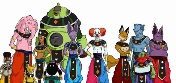 Dragon Ball Super los 12 dioses de la destruccion