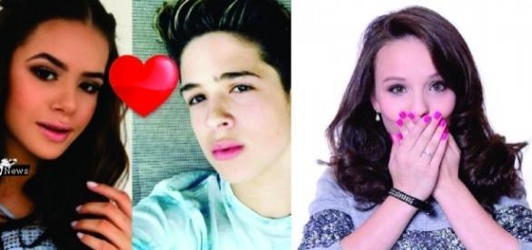Maisa e João Guilherme passam fim de semana juntos