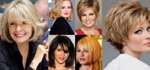 Taglio moda capelli medi