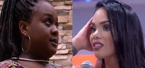 Roberta tenta se desculpar com Mayara (Foto: Reprodução/TV Globo)
