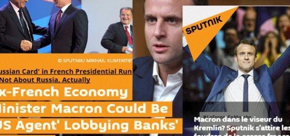 Sputnik News, avec son édition française, se défend d'avoir mis en cause Emmanuel Macron dans son édition internationale