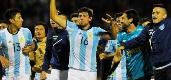 Uniforme da seleção argentina deu sorte para a equipe