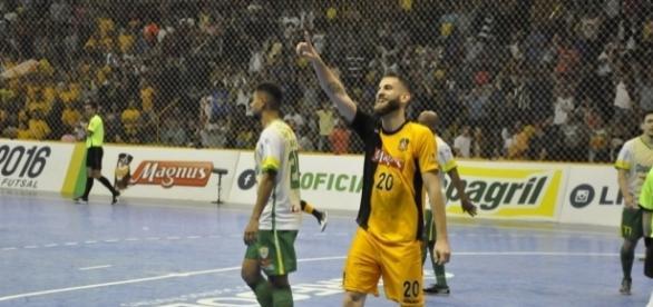 Xande é o novo reforço do Timão na temporada do futsal