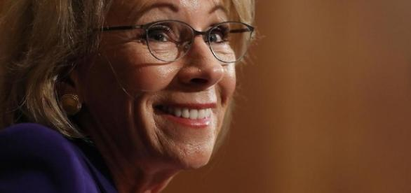 Betsy DeVos: America's new Secretary of Education (via- usnews.com)