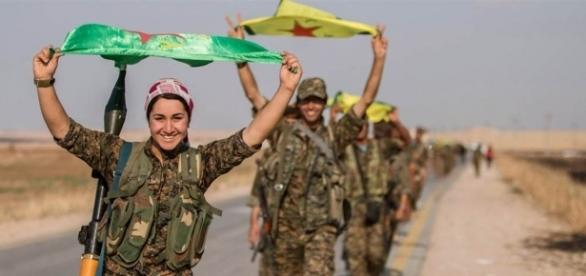 Kurdish Fighters Push Closer to ISIS Caliphate's Capital in Syria ... - nbcnews.com