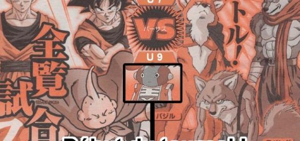 Le premier match opposera l'univers 7 à l'univers 9 avec les team Gokû, Gohan, Mister Buu VS Basil, Lavenda, Bergamo !