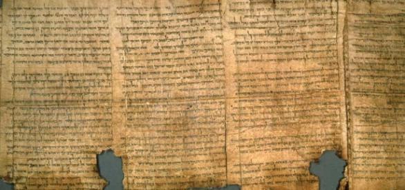 Na imagem, os Manuscritos do Mar Morto