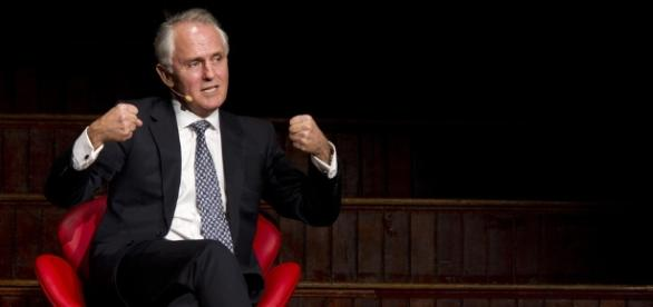 Town Hall Malcolm Turnbull. Photo Credit to Jamie Williams.