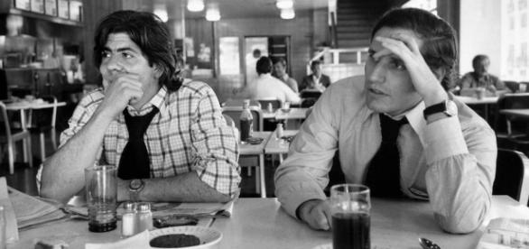 Washignton Post reporters Carl Bernstein (left) and Bob Woodward ... - reddit.com