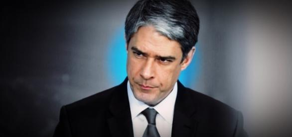 William Bonner no 'Jornal Nacional' -