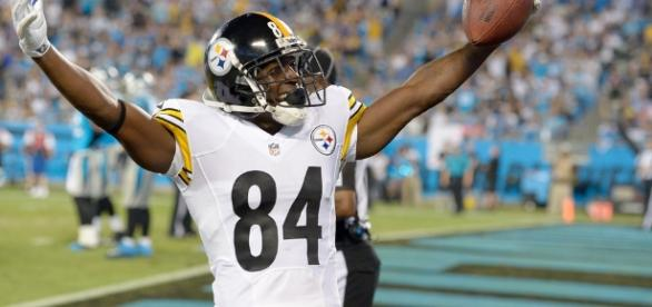 Antonio Brown Pictures Pittsburgh Steelers v Carolina Panthers - - zimbio.com