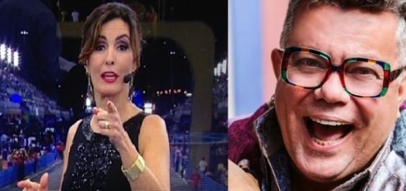 Fátima Bernardes se confunde sobre símbolos religiosos e é bombardeada na internet