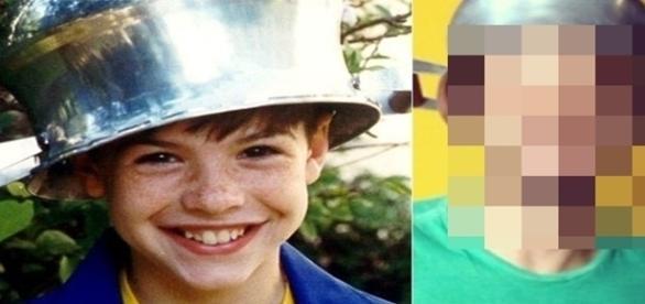 Na época ele tinha apenas 9 anos e fez muito sucesso na telinha