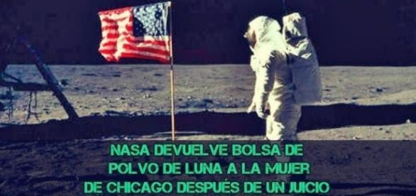 NASA devuelve bolsa de polvo de luna a la mujer de Chicago después de un juicio by BBC World