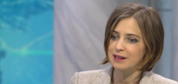 Natalia Poklonskaya, bigotism cu ochi albaștri