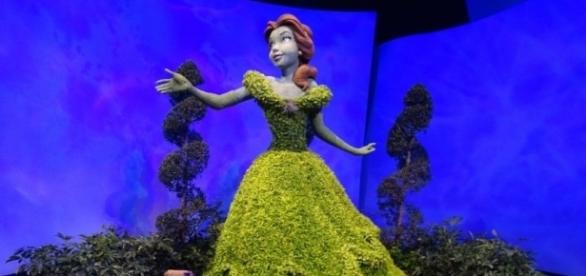 See the Belle topiary at Epcot this spring. (Photo by Barb Nefer)