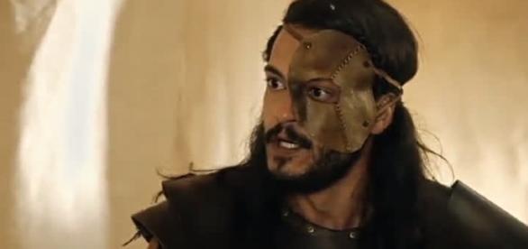 Tobias na novela 'A Terra Prometida' (Divulgação/Record)
