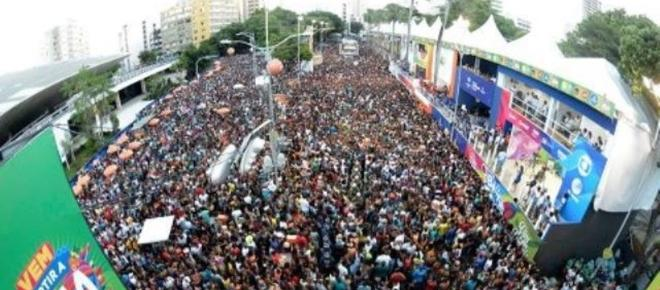 Carnaval na Bahia continuou nesta Quarta-feira de Cinzas