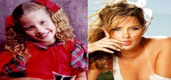 Este é o antes e o depois de Debby Lagranha