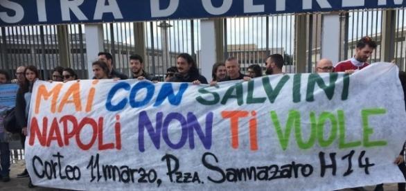"""Collettivo Iskra: """"Salvini a Napoli? Non ha diritto di parola ... - ilsole24ore.com"""