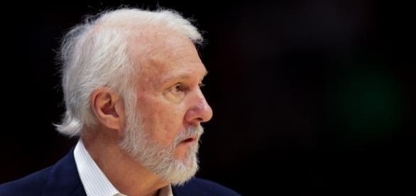 Gregg Pop Popovich, entrenador de San Antonio Spurs