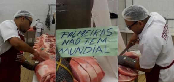 Palmeiras vira motivo de piada