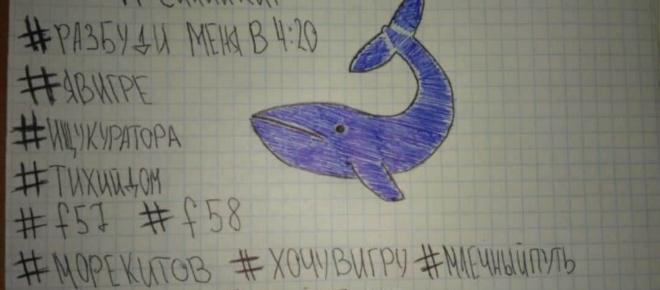 Niebieski wieloryb - samobójcza zabawa nastolatków