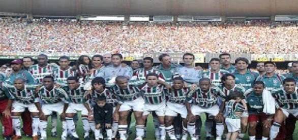 2005, ano da última conquista da Taça Rio pelo Fluminense (Foto: Blogspot)