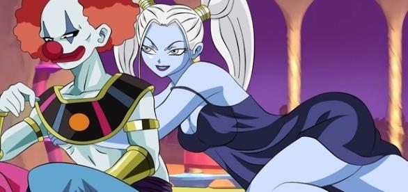 Dragon Ball Super: El dios destructor Vermut(dios payaso)
