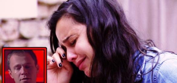 Emilly chora no Big Brother Brasil