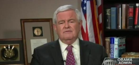 Newt Gingrich on Fox News, via Twitter