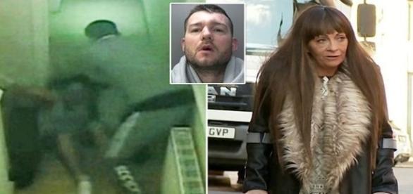 O agressor foi condenado depois que a polícia teve acesso às cenas.